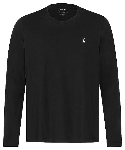 fc80061654 Polo Ralph Lauren - BSR CRW STP - Black: Amazon.it: Abbigliamento