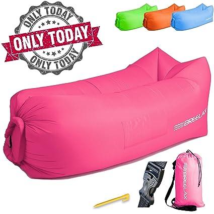 Amazon.com: Tumbona Inflable silla de aire – La mejor ...