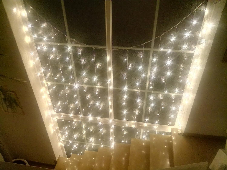 Salcar tenda luminosa tenda catena led 3 * 3 metro 300 leds