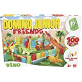 Goliath - Jeu de construction - Domino express - Junior Dino Friends