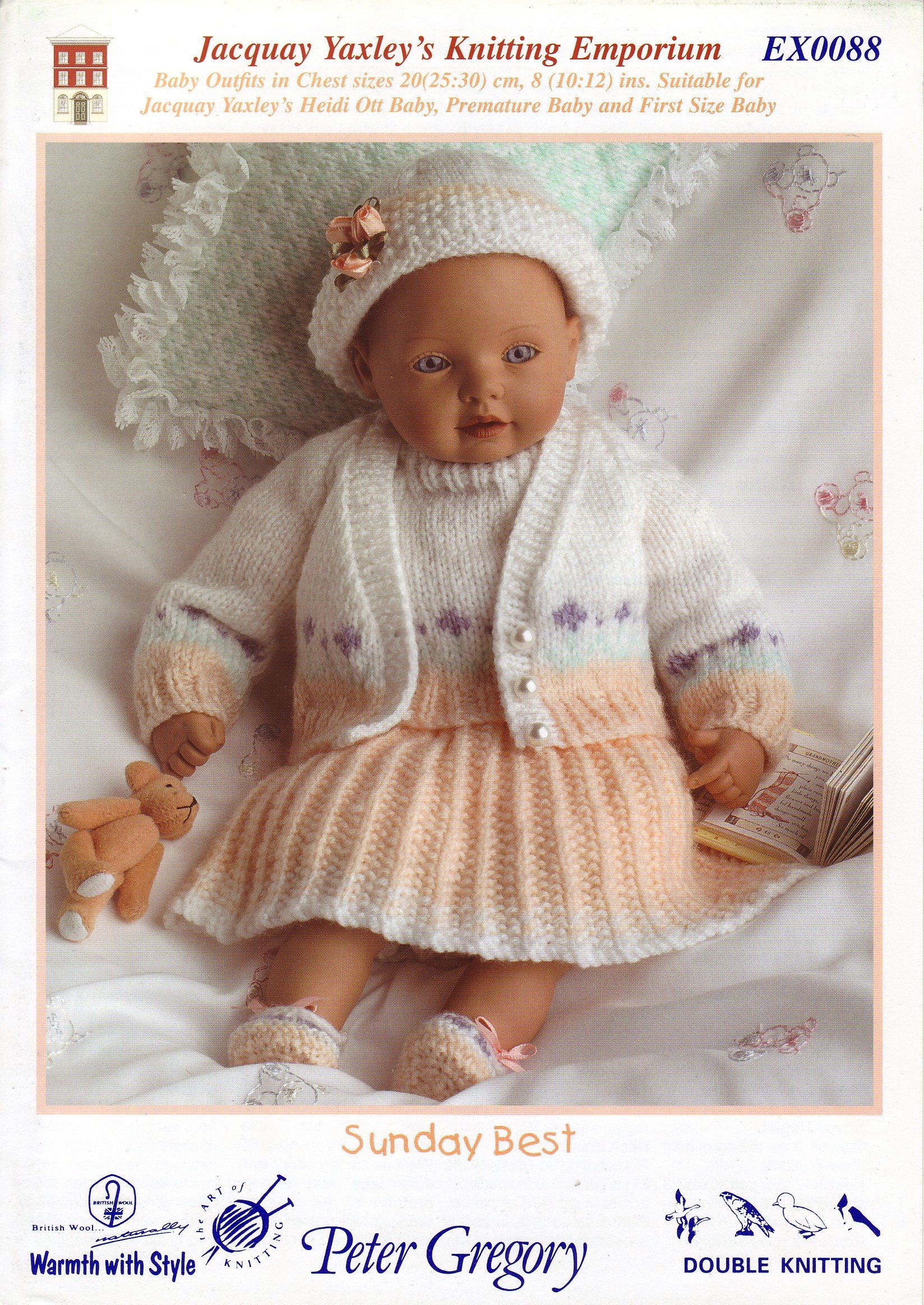 d5c2a3e33 Jacquay Yaxley Heidi Ott Baby Doll Outfits  Suitable for Premature ...