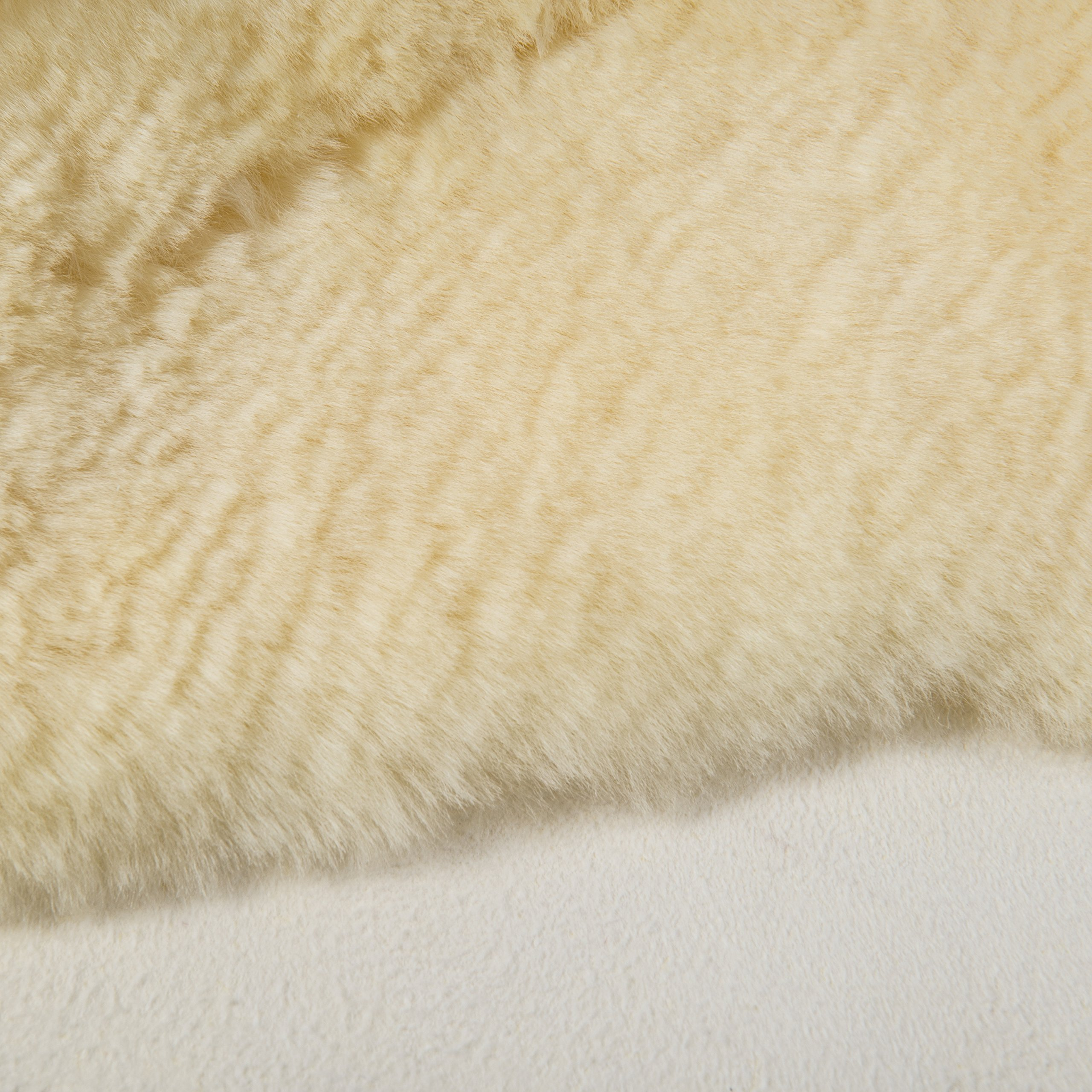 DMI Natural Sheepskin Wool Comfort Mattress Bed Pad Bed Mat, Washable, 8 to 9 Square Feet, Beige by Briggs (Image #6)