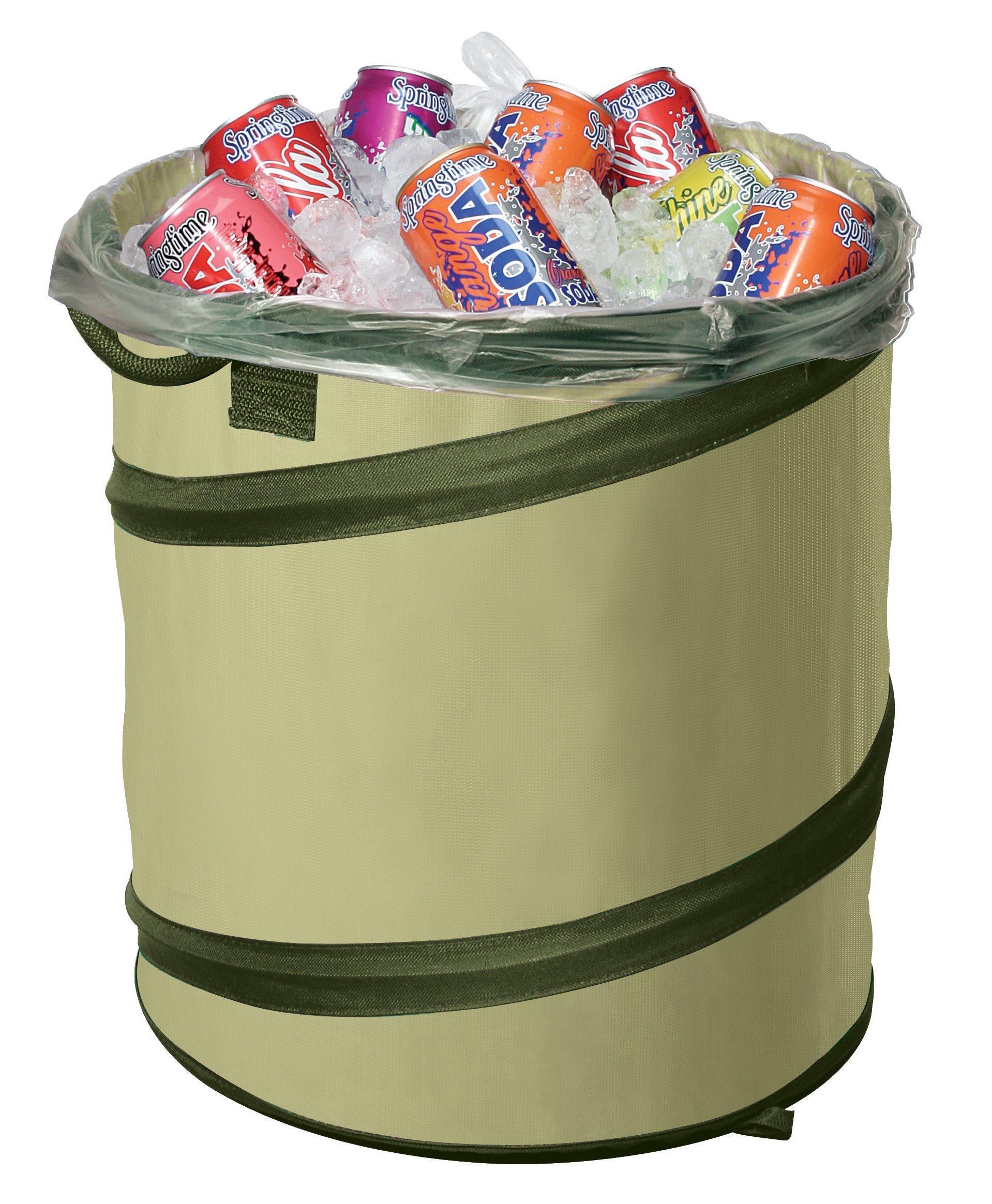 Fiskars 10 Gallon Kangaroo Gardening Bag, 10 Gallon Capacity, Green, 94046974J