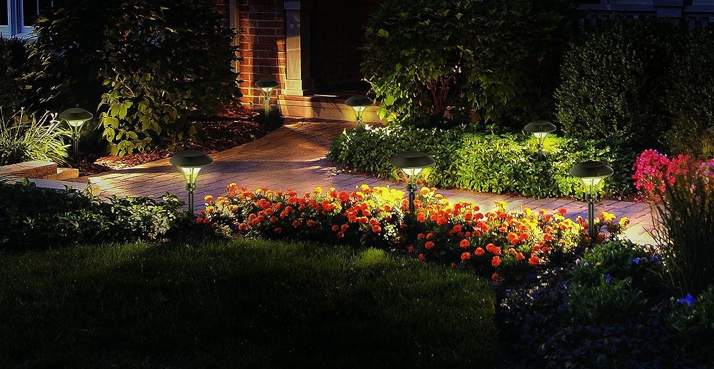 Amazon.com : Malibu Celestial 6 Pack LED Pathway Lights, LED Low ...