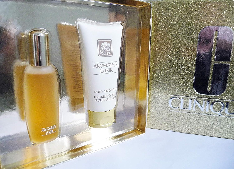 Clinique Aromatics Elixir Duo Gift Set Perfume Spray & Body Lotion New