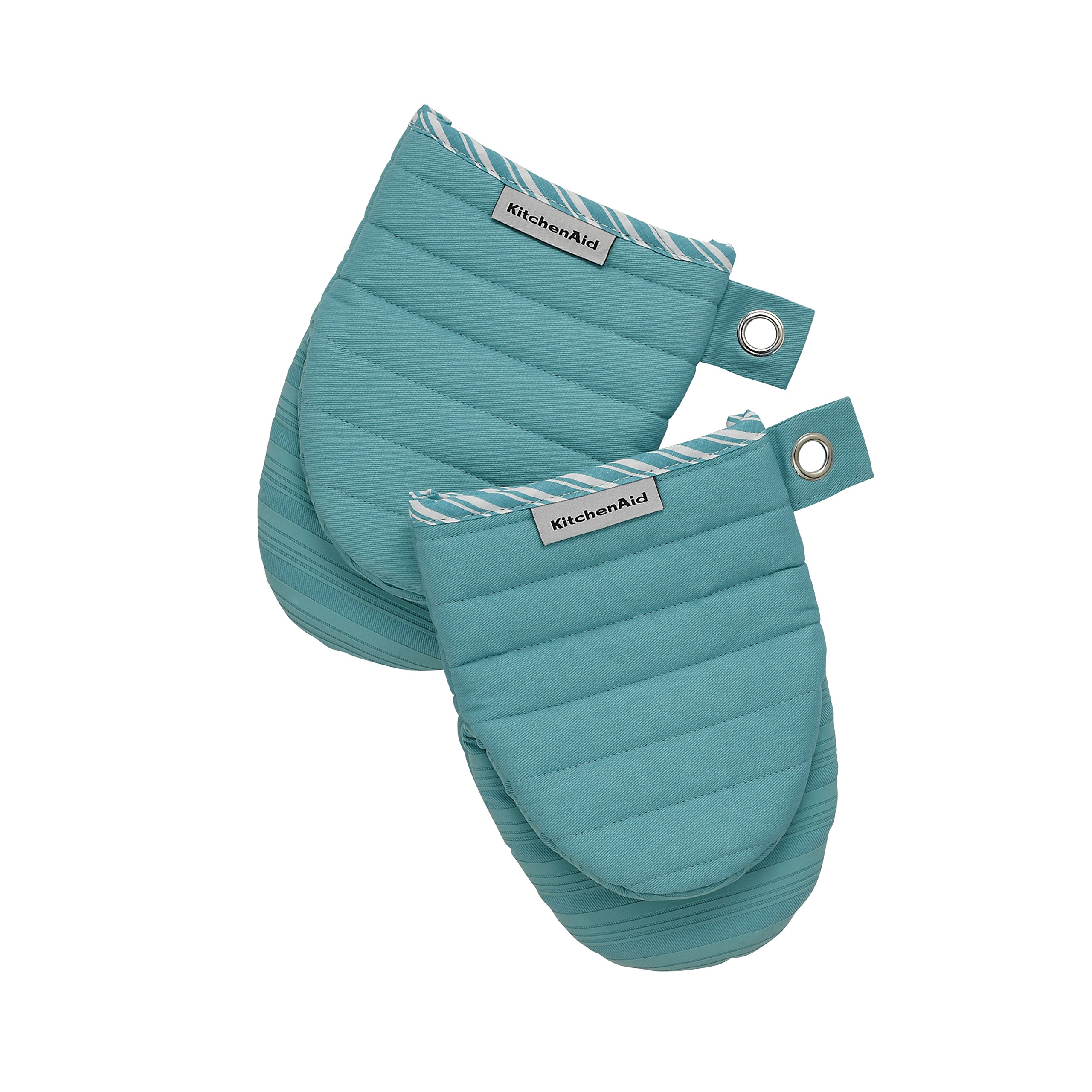 Kitchenaid Silicone Mini Mitt Oven, ONE SIZE, Aqua