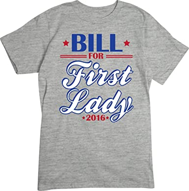 f47790935 Amazon.com: Artopia Men's Bill For First Lady Basic Tee: Clothing