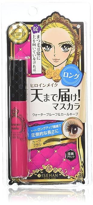 db333dddad4 Amazon.com : Kiss Me Heroine Make Long and Curl Mascara N 01.Black 6g :  Beauty