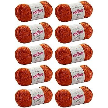 Baumwolle häkeln *MyOma Cotton pure aprikose (Fb 0194)* Baumwollgarn ...