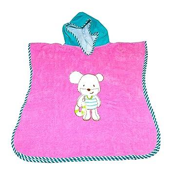 itsImagical - Baby aquapres Pink, Toalla de Playa con Capucha para bebé (Imaginarium 83339): Amazon.es: Juguetes y juegos