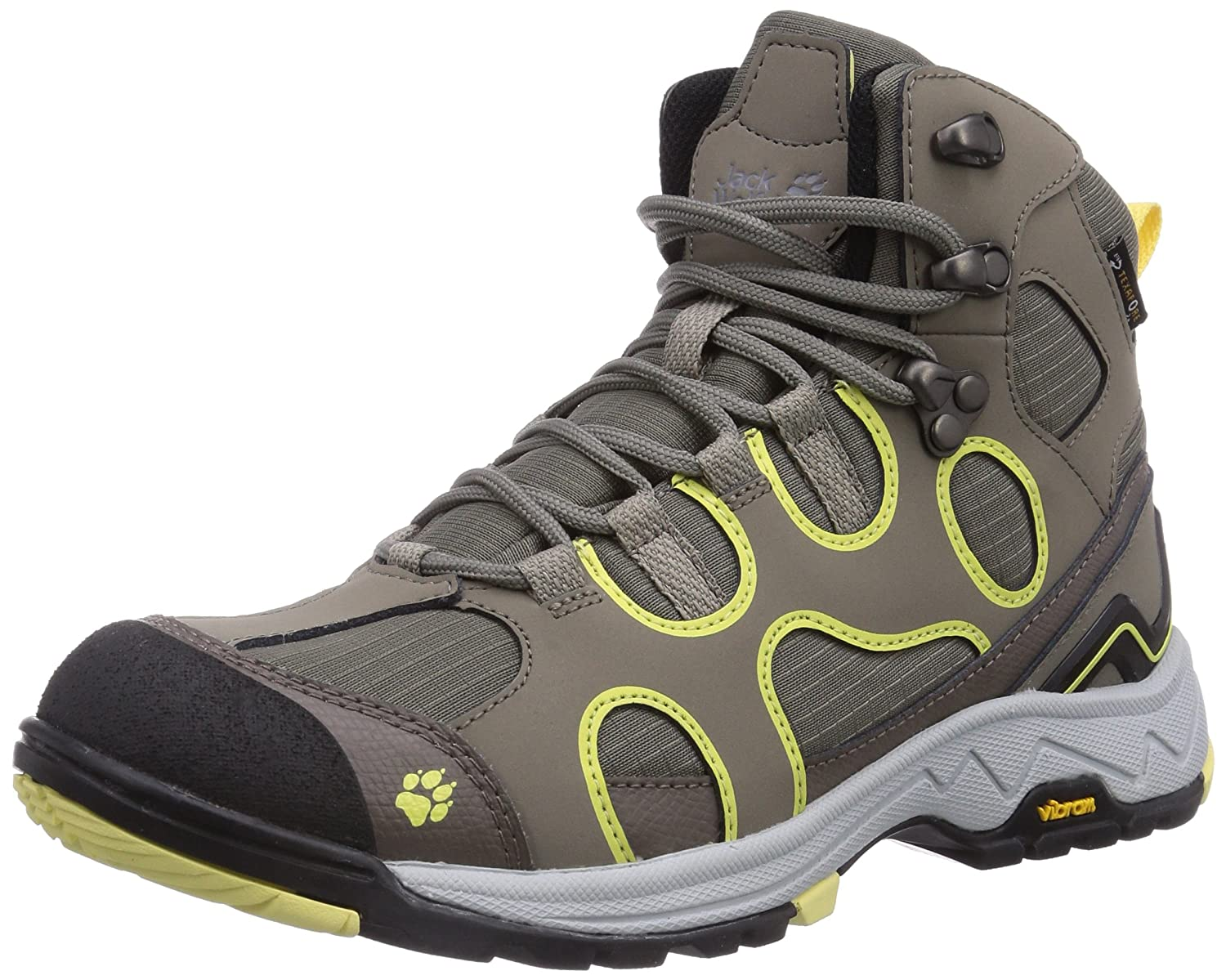 Crosswind Texapore O2+ Mid W, Womens High Rise Hiking Shoes Jack Wolfskin