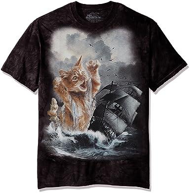67a745f7 The Mountain Men's the Krakitten Adult T-Shirt, Black, Small