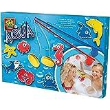 Aqua - Pesca en el baño, set de juego , multicolor (SES 13025)