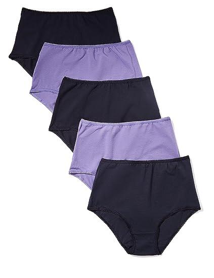 8f9ea4f35e Amazon.com  Amazon Brand - Iris   Lilly Women s Cotton Full Coverage ...