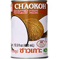 Chaokoh Coconut Milk, 13.5 Ounce (Pack of 6)