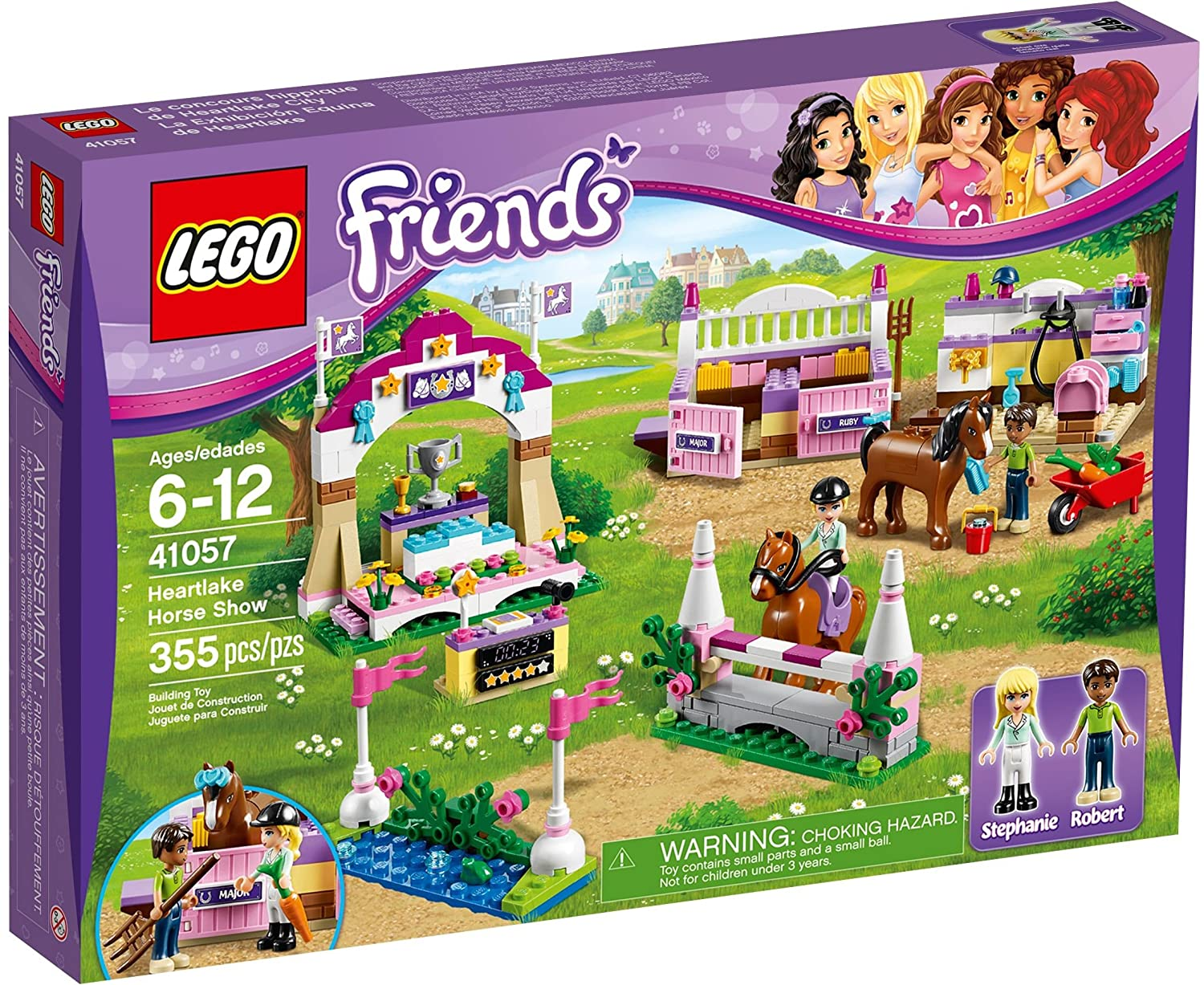 LEGO Friends Set 41057 Heartlake Horse Show Lego horses sets