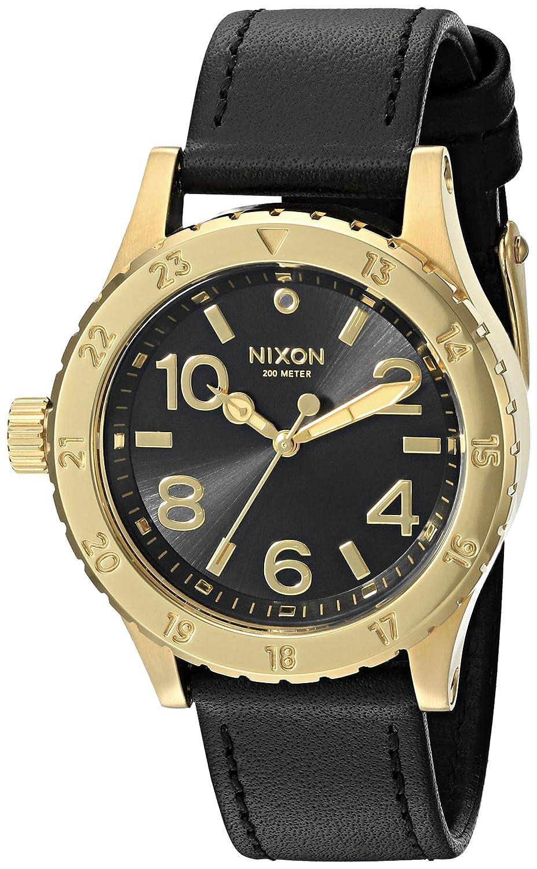 Nixon 38-20 Leather Gold Black