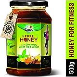 Zandu Pure Honey with Cinnamon, Green Tea and Lemon- 500g