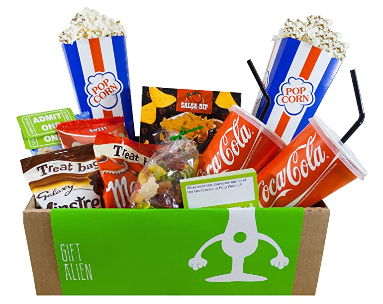 A unique cinema experience gift box for movie lovers - chocolate ...
