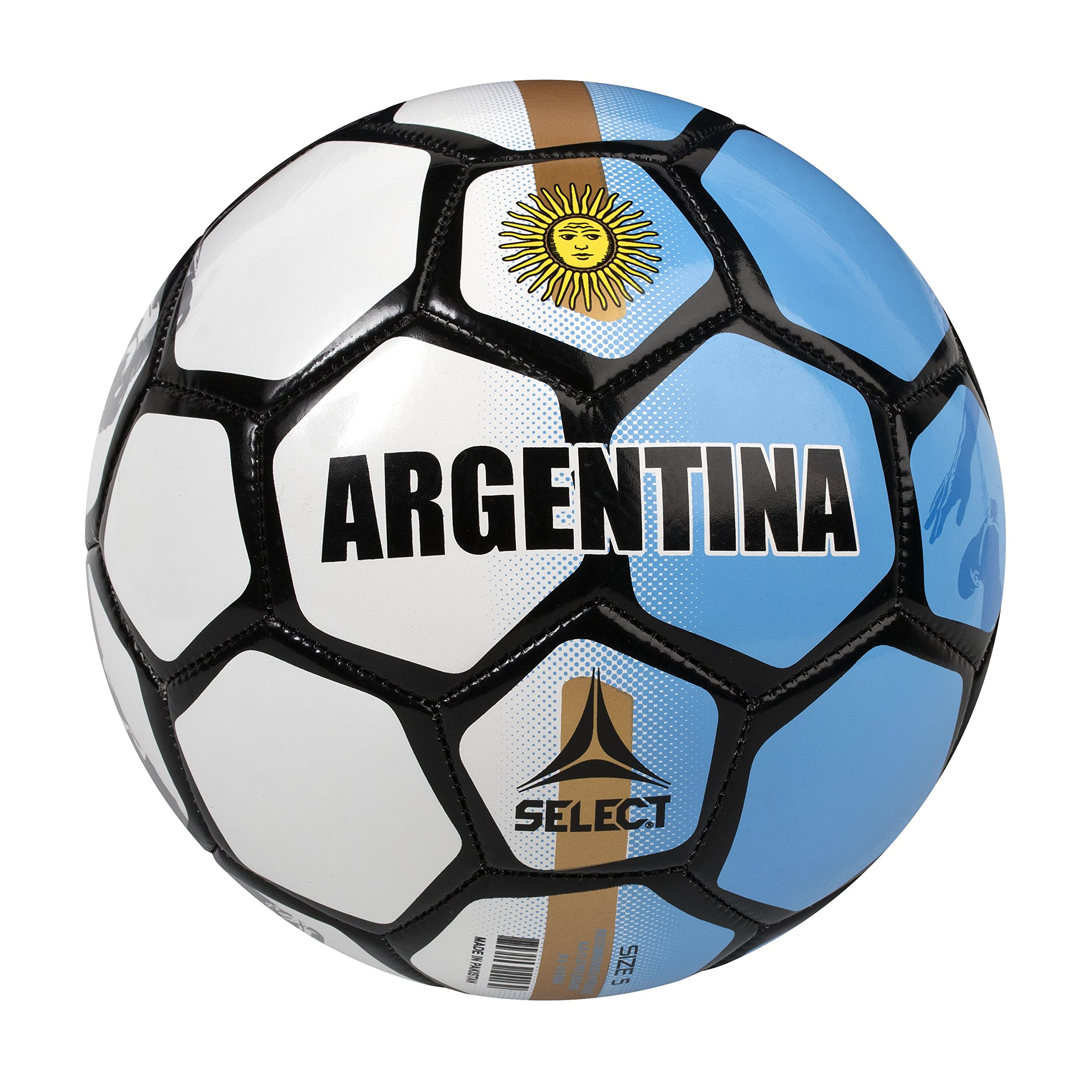 SELECT Argentina World Cup Country Soccer Ball - Skills Ball - 47 cm