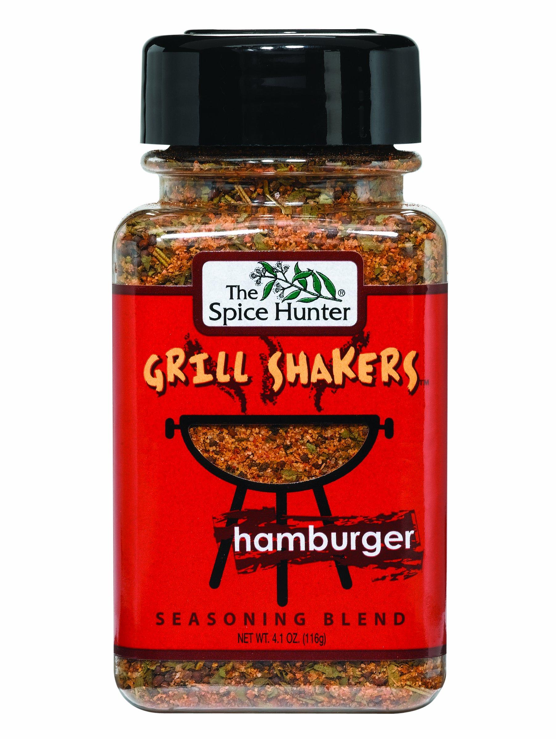 The Spice Hunter Hamburger Rub Grill Shaker, 4.1-Ounce Jars (Pack of 6)