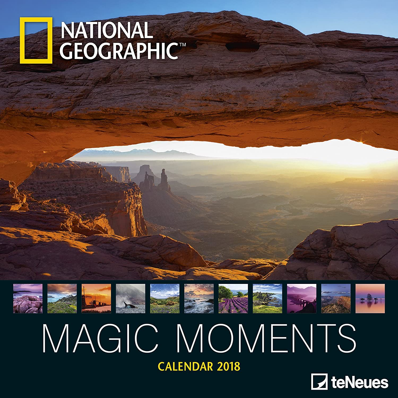 TN - Calendario de 2018 de National Geographic con fotos de ...