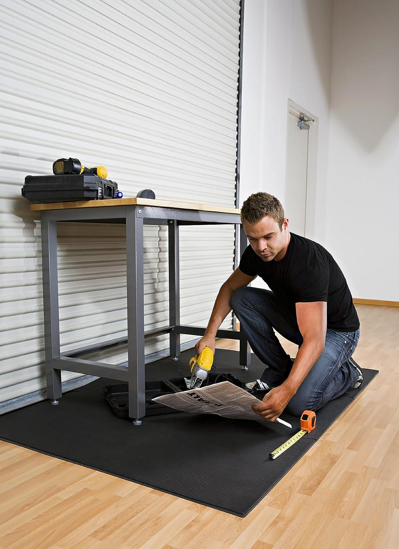 Norsk 240147 Solid Color Recyclamat Multi-Purpose Foam Flooring 4-Piece Multi-Color