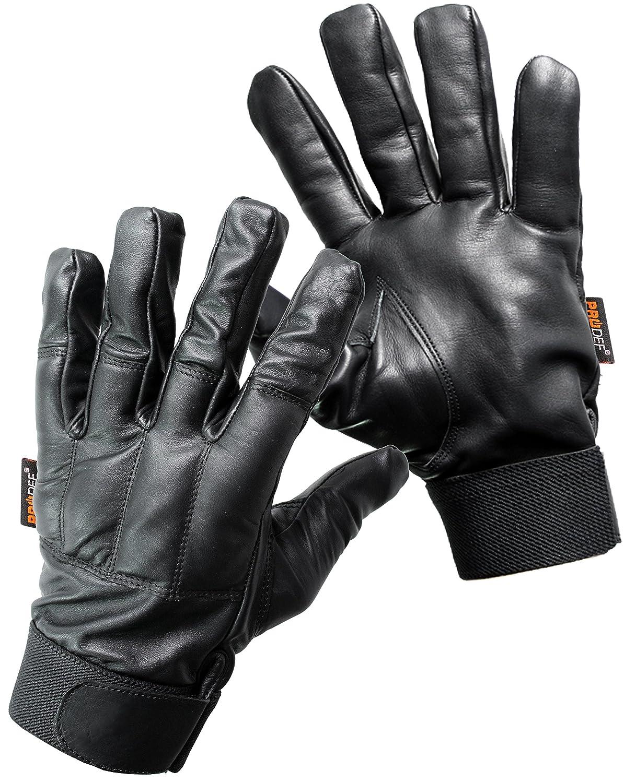 PRODEF® Quarzsand Handschuhe, Level-5 Schnittschutz, Leder