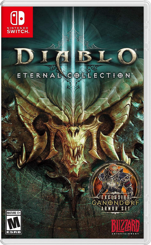 Amazon.com: Diablo 3 Eternal Collection - Nintendo Switch ...