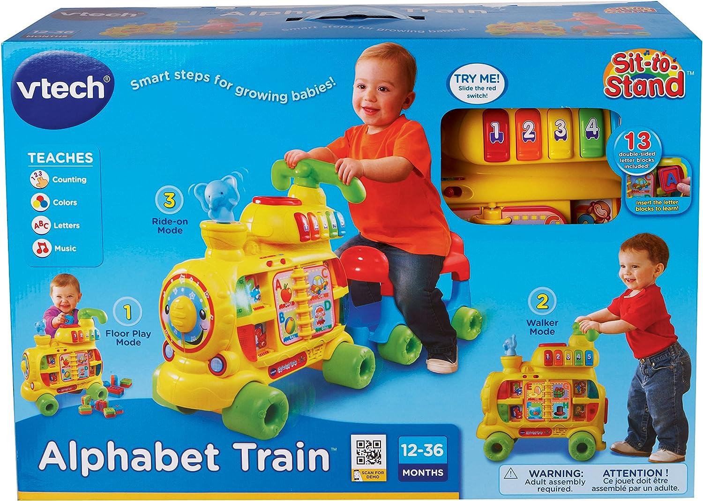 Amazon.com: El tren alfabeto de VTech, sienta y levá ...