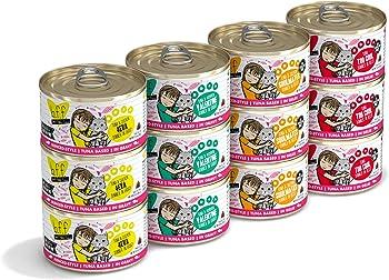 12-Pack Weruva B.F.F. Grain-Free Wet Cat Food