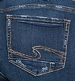 Silver Jeans Women's Plus Size Elyse Mid-Rise