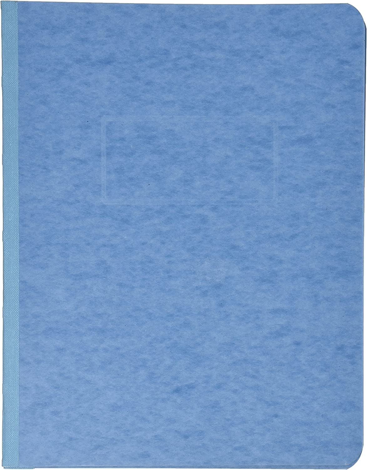 ACCO Pressboard Report Cover, Side Bound, Tyvek Reinforced Hinge, 8.5 Inch Centers, 3 Inch Capacity, Letter Size, Light Blue (A7025972A) : Business Report Covers : Office Products