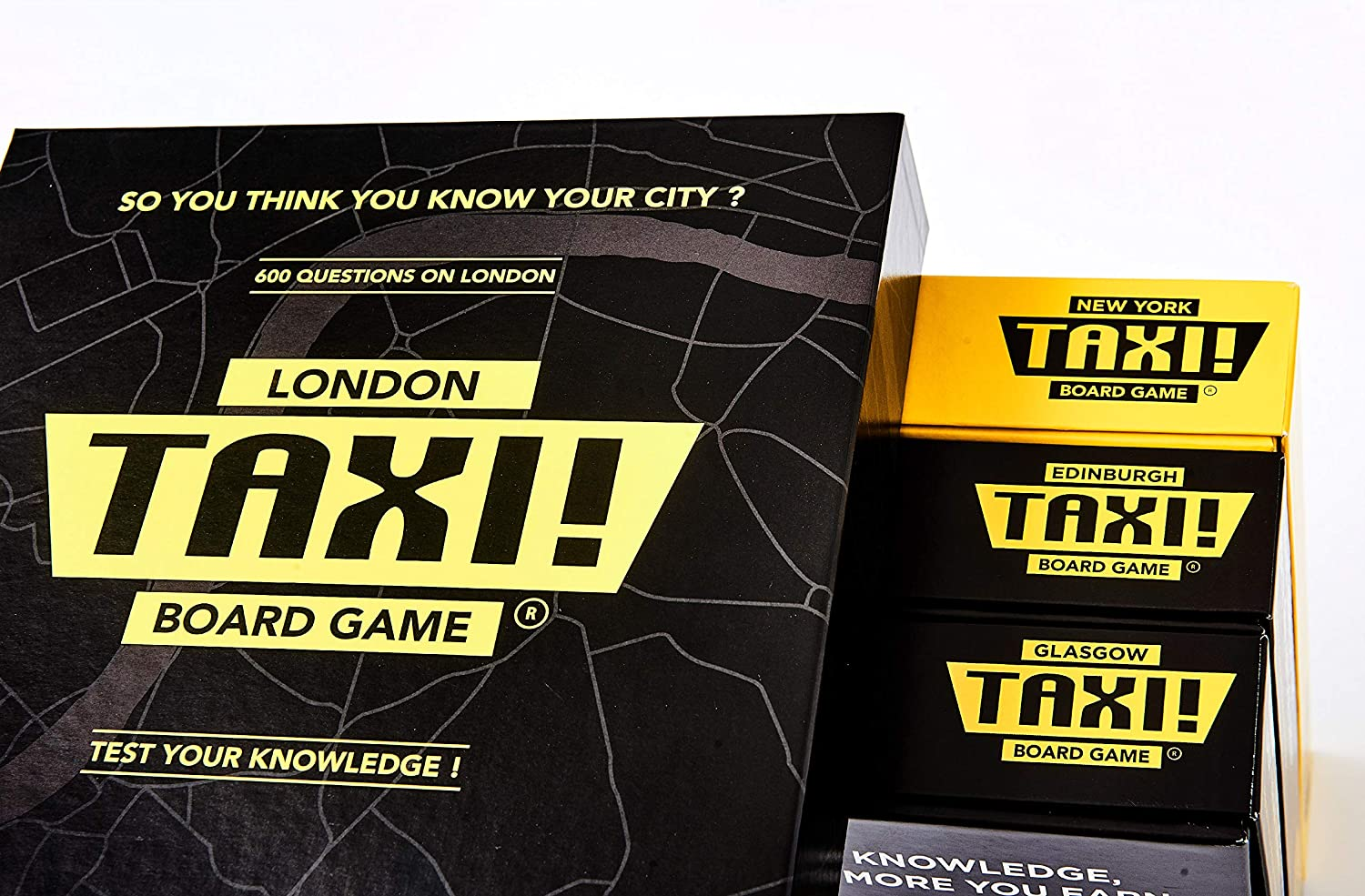 London Taxi Board Game. A Box Full of Fun and Knowledge by Taxi Board Game: Amazon.es: Juguetes y juegos