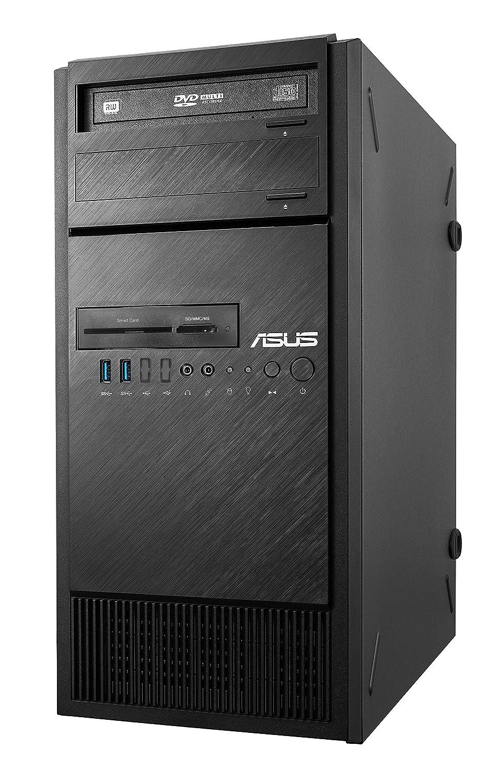 ASUS ESC300 G4-M1650- Ordenador de sobremesa (Intel Xeon E3-1220 V6, 8 GB RAM, 1 TB HDD, Nvidia Quadpro P600), Negro