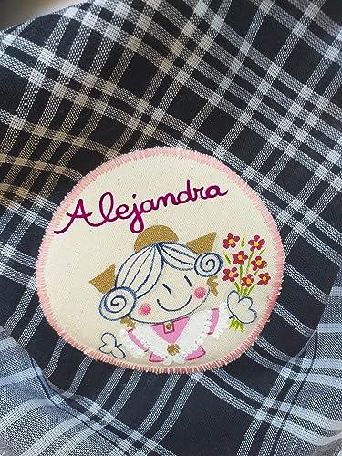Pañuelo fallera personalizado: Amazon.es: Handmade