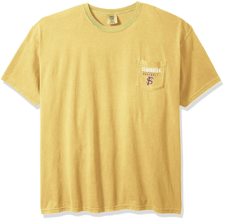 『5年保証』 NCAA Florida State State B01N2UFFVN Seminoles野球フレーム半袖ポケットTシャツ、Large、マスタード NCAA B01N2UFFVN, BellBreeze:c173d2b5 --- a0267596.xsph.ru