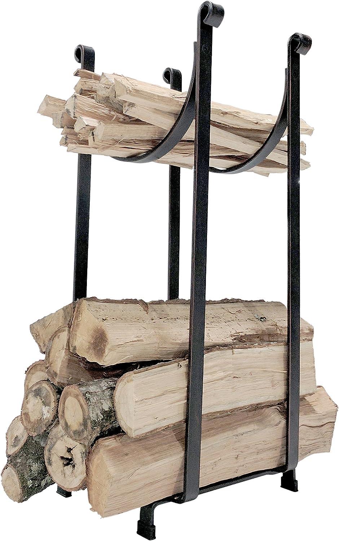 Titan Steel Sling Hearth Firewood Log Rack Storage Holder 22 H x 14 L