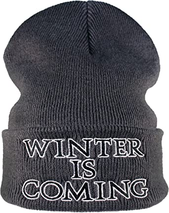 Gorro : Winter is Coming/Regalo-s Hip Hop y Rap/Gorras de Hombre y ...