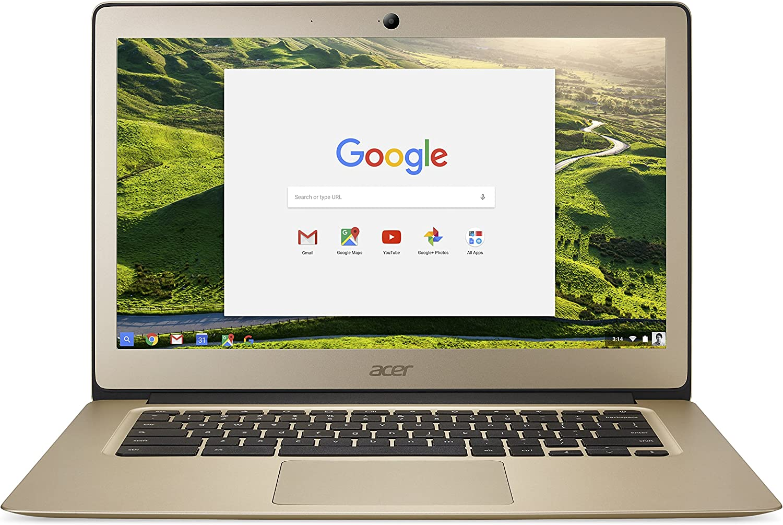 "Acer Chromebook CB3-431-C6ZB - 14"" - Celeron N3160 - 4 GB RAM - 32 GB SSD, gold"