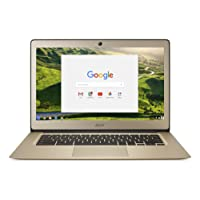 "Acer Chromebook CB3-431-C10S 14"" Full HD Or (Intel Celeron, 4 Go de RAM, Mémoire 32 Go, Intel HD Graphics, Chrome Os) [Ancien Modèle]"