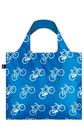 LOQI Travel Einkaufstasche / Reisetasche Reise-Henkeltasche, 4 cm, Bikes