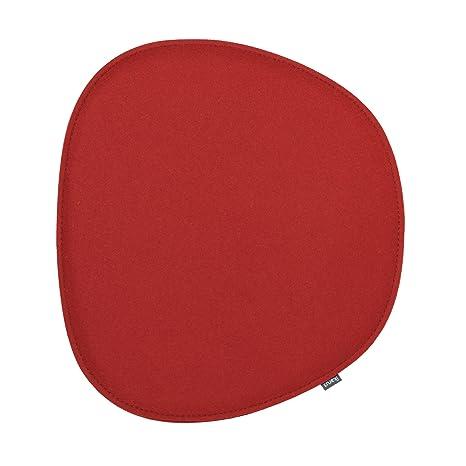 Cojín de asiento para Eames Side Chair 2 capas color rojo ...