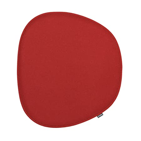 Cojín de asiento para Eames Side Chair 2 capas color rojo ...