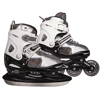 Ultrasport 2 en 1 - Patines para hielo y patinaje en línea para ...