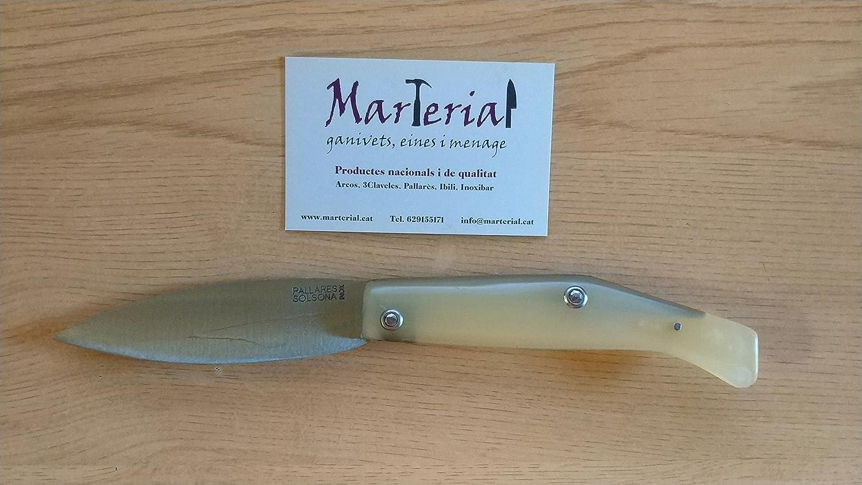 Compra Navaja PALLARES Nº1 Comun, Acero Inoxidable, 9cm en ...