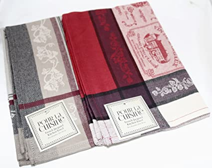 Amazon.com: DII Design Imports French Inspired Pour la Cuisine Fine on french dish drainer, french dish plates, french hand towels, french towels made in france, japanese towels, french corkscrew, french beach towels, french utensils, french mittens, sentiment bistro towels, french cutting boards, french bistro towels, french flour sack towels, french country towels, french dish drying rack, french sugar, french chef towels, french knives, french bath towels, french blue towels,