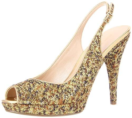 De Mujer Glameron Nine Zapatos West Color Destalonados Lona q4SIZ6xIw