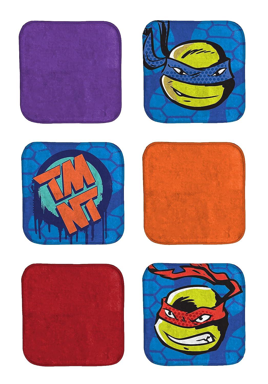 Jay Franco Nickelodeon Teenage Mutant Ninja Turtles TMNT Green and Blue Hand Towel Jay Franco and Sons Inc JF30257FL