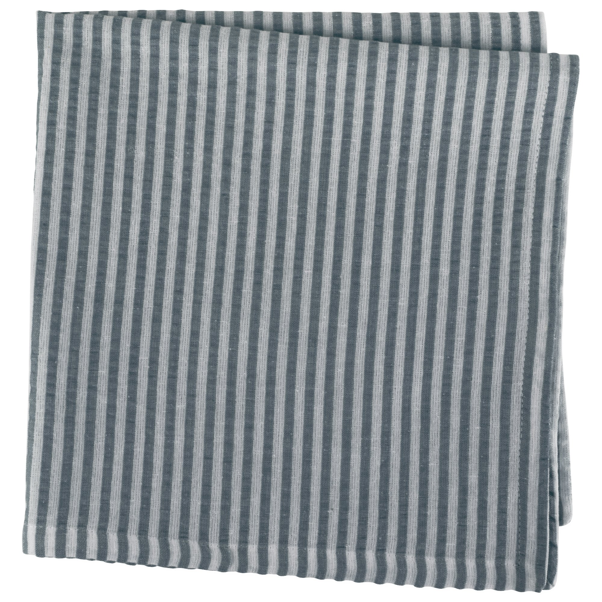 DII Cotton Seersucker Striped Napkin for Brunch, Weddings, Showers, Parties and Everyday Use, 20 x 20'', Mineral Gray and White by DII (Image #3)